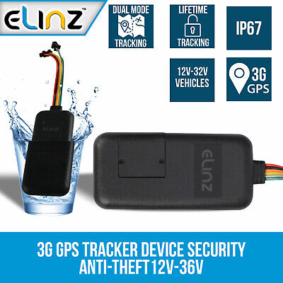 AU109 • Buy 3G GPS Tracking Device Tracker Real Live  Security Vehicle Car Anti-Theft 12V-36