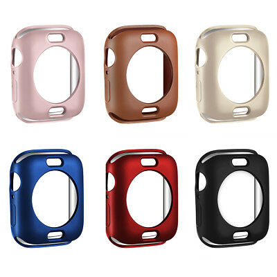 $ CDN8.02 • Buy For Apple Watch IWatch Series 5 4 3 2 Soft Slim TPU Protective Bumper Case Cover