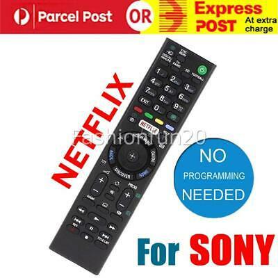 AU13.95 • Buy Replacement SONY BRAVIA TV NETFLIX Universal Remote Control LCD LED Series TV