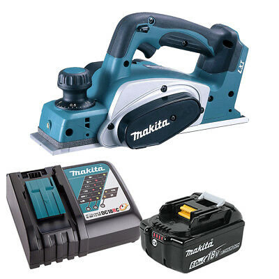 Makita DKP180 LXT 18V Li-Ion 82mm Planer With 1 X 6ah Battery & Charger • 260£