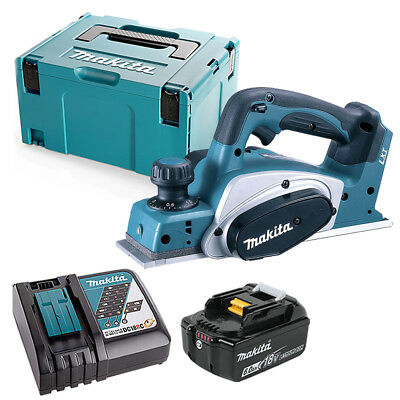 Makita DKP180 LXT 18V Li-Ion 82mm Planer With 1 X 6ah Battery, Charger & Case • 280£