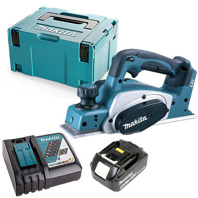 Makita DKP180 LXT 18V Li-Ion 82mm Planer With 1 X 5ah Battery, Charger & Case • 275£