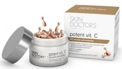 AU43.85 • Buy Skin Doctors Potent Vit. C 50 X 3ml Ampoules 10% Ascorbic Acid Vitamin Collagen