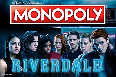 $ CDN109.87 • Buy Monopoly Riverdale Board Game | Official Riverdale Merchandise | Gift Toy Adults