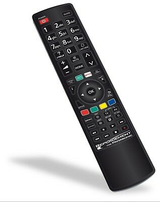 AU24.95 • Buy Replacement PANASONIC TV Remote Control N2QAYB001008 NO PROGRAMMING REQUIRED NEW