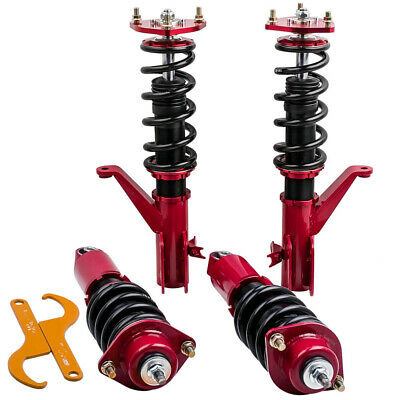 $297 • Buy Coilover Suspension Kits For Honda Civic (EM2) 2001 - 2005 Golden