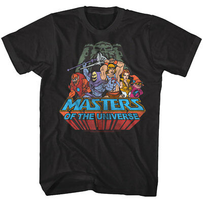 $19.50 • Buy Masters Of The Universe He-Man Characters Men's T Shirt Skeletor She-Ra Beast