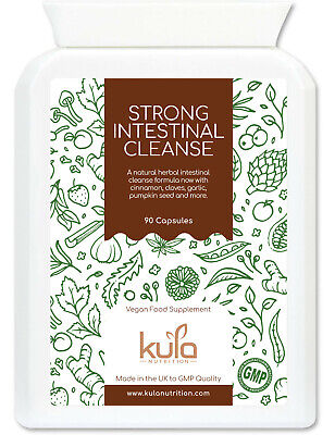 Parasite Cleanse - Strong Herbal Intestinal Detox - 90 Capsules - Kula Nutrition • 15.99£