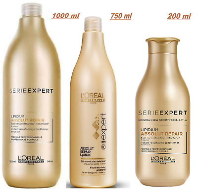 Loreal Professionel Absolut Repair Gold Quinoa+ Protein Conditioner With 3 Sizes • 12.99£