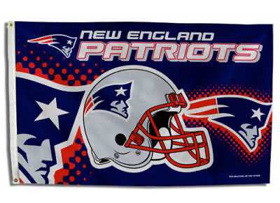 $10.49 • Buy New England Patriots Flag 3'x5' Nfl Helmet Banner: Free Shipping