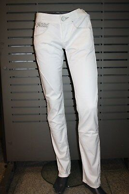 £48.97 • Buy Killah By Miss Sixty Jeans Ebel Gold Trousers JL3200 White New