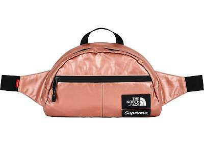 $ CDN211.85 • Buy Supreme X The North Face Metallic Waist Bag Rose Gold SS18