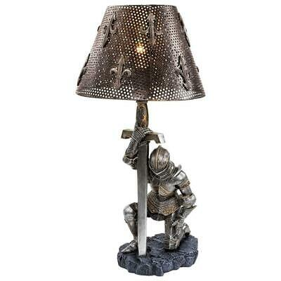 $122 • Buy 22  Decorative Gothic Medivial Knight Sword Sculptural Table Lamp Statue
