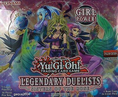 Yugioh Legendary Duelists Sisters Of The Rose LED4 Rare 1st Ed Choose From List • 1.79£