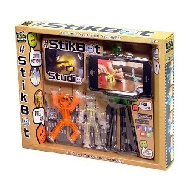 Stikbot Studio Kids Stickbot Stop Motion Movie Making Animation App Toy V2 • 14.99£