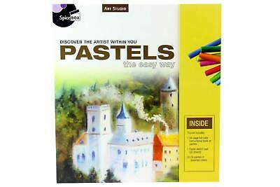 ART & DRAWING KIT - Includes 20 X Colour Oil Pastels, 30page Sketch Pad & MORE! • 24.10£