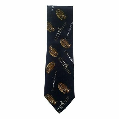 £5.99 • Buy Brass And Wind Instruments 100% Polyester Classic Tie