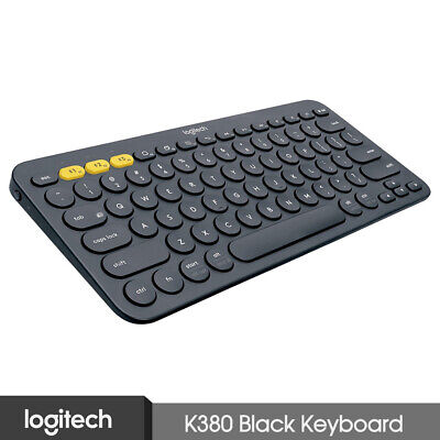 AU77.49 • Buy Logitech K380 Multi-Devices Bluetooth Keyboard Black For IOS Android Laptop