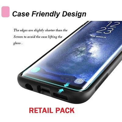 $ CDN7 • Buy  Hard Tempered Glass Protector Gorilla Film For Samsung Galaxy S7 S8 S9 Note 8 9
