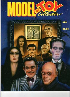 $ CDN8 • Buy WoW! Model And Toy Collector #20  The Addams Family!  New Wave Monster Kits!