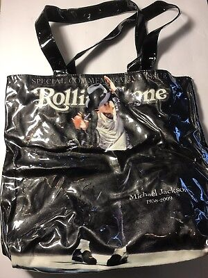 Rolling Stone Special Commemoraive Issue MICHAEL JACKSON 1958-2009 Tote Bag • 16.46£