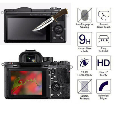 $ CDN1.32 • Buy LCD Screen Protector Tempered Glass Shield Guard Film For SONY A6000 A6500 Hot