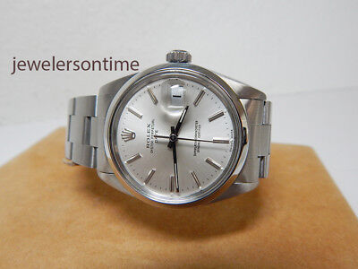 $ CDN4870.75 • Buy Rolex SS Vintage Date 1500 1.7 Million Series Circa 1967 Oyster Band 34mm