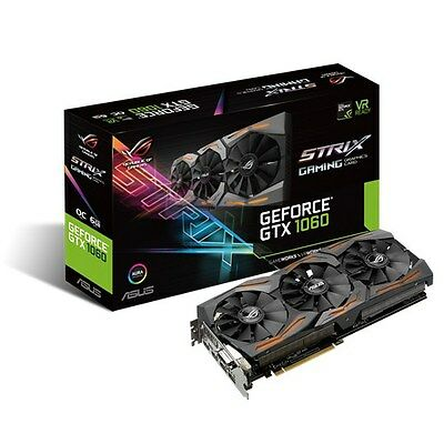 $ CDN654.41 • Buy ASUS GeForce GTX 1060 6GB GDDR5 STRIX-GTX1060-O6G-GAMING PCI-E Video Card HDMI