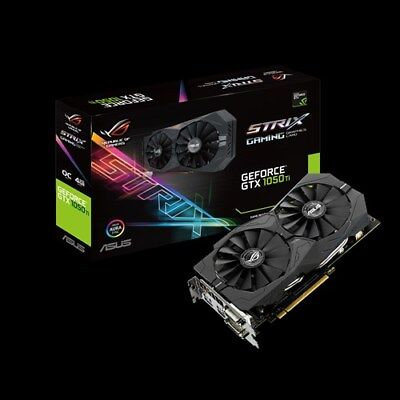 $ CDN377.14 • Buy ASUS GeForce GTX1050 Ti OC 4GB GDDR5 STRIX-GTX1050TI-O4G-GAMING PCI-E Video Card