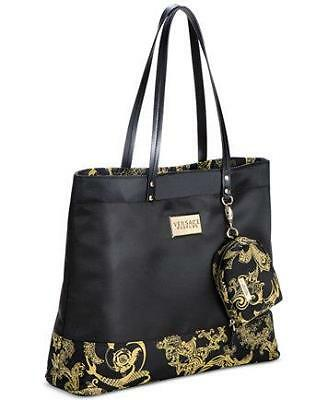 1ecc628172 Versace Parfums Women Duffle Weekender Tote Purse Handbag Travel Gym Bag !  • 90.00