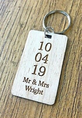 AU8.93 • Buy Personalised Valentines Day Gifts For Him Her Husband Wife Anniversary Keyring
