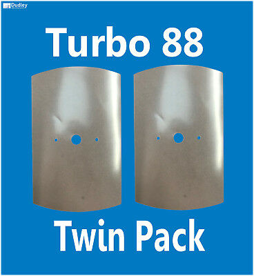TWIN PACK Thomas Dudley Turbo 88 Blue Syphon Replacement Spare Diaphragm Washers • 2.35£
