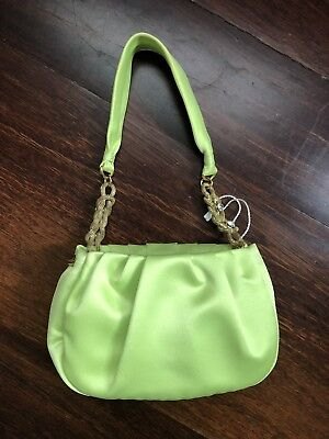 £59.99 • Buy Max Mara Small Green Bag With Jewelled Details