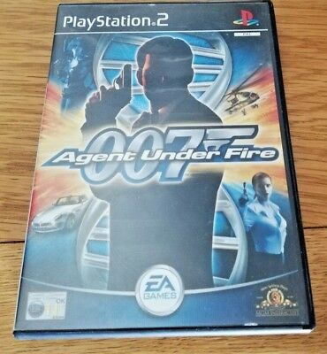 007 Agent Under Fire COMPLETE Sony PS2 Game FREE P&P  • 2.79£