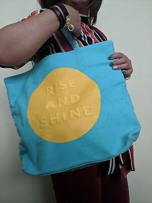 $ CDN68 • Buy RARE!! Authentic KATE SPADE New York Sky Blue Canvas Large Tote