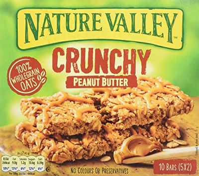 £18.47 • Buy Nature Valley Crunchy Peanut Butter Cereal Bars 42g Pack Of 25 Bars 5 Packs Of 5