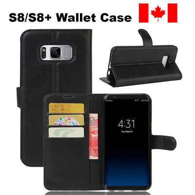 $ CDN6.49 • Buy For Samsung Galaxy S8 / S8 Plus Leather Wallet Case Cards Holder Case Cover