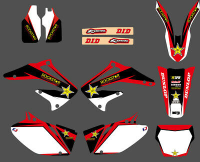 $44.99 • Buy Graphics Kit For Honda CRF450R CRF 450 450R Deco Decals Stickers 2002 2003 2004