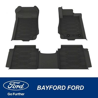 AU139 • Buy Genuine Ford Ranger Px Weather Mats Front And Rear Set Ranger Logo