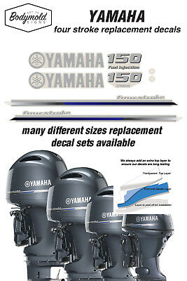 AU89 • Buy YAMAHA  150HP Fuel Injected  Four Stroke 2013 Outboard Decals
