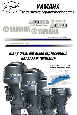 AU99 • Buy YAMAHA  200HP Four Stroke 2013 Outboard Decals