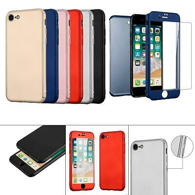 AU7.46 • Buy 3 In 1 Front Back 360° Protection Shockproof Phone Case For Apple IPhone 7 / 8