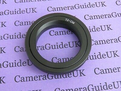 T2/T Lens Mount 4/3 Adapter Ring For Olympus OM-D E-M1X, E-5, E-3, E-1, E-30 • 7.25£
