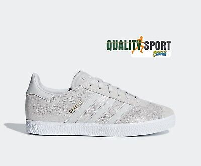 official photos 99a69 ceae1 Adidas Gazelle Beige Glitter Scarpe Donna Shoes Sportive Sneakers F34555  2019 • 59.99€