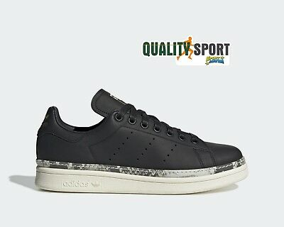 Adidas Stan Smith New Bold Nero Scarpe Donna Sportive Sneakers BD8053 2019  • 107.99€ f183847a104