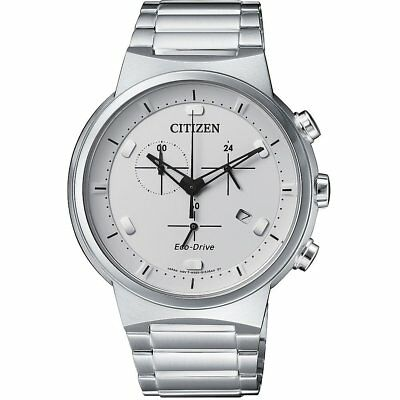 $85.99 • Buy Citizen Eco-Drive Men's Chronograph Silver-Tone 41mm Watch AT2400-81A