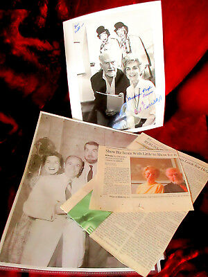 $ CDN190.65 • Buy (2) I Love Lucy Stamp Sheets And Signed Madeline Pugh & Bob Carroll Photo