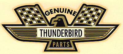 £12.28 • Buy Vintage 60's Water Decal Genuine Thunderbird Parts Ford Hot Rod Nascar Nhra Old
