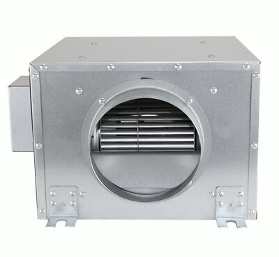 Hydroponics Silent 10  Inch 250mm 920m3/h Grow Room Acoustic Box Extractor Fan • 190£