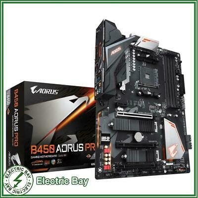 AU243 • Buy NEW Gigabyte B450 AORUS PRO AMD RYZEN AM4 ATX Gaming Motherboard DDR4 HDMI M.2